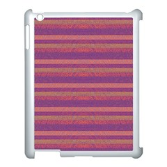 Lines Apple Ipad 3/4 Case (white) by Valentinaart
