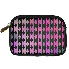 Old Version Plaid Triangle Chevron Wave Line Cplor  Purple Black Pink Digital Camera Cases by Alisyart
