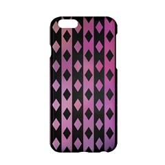 Old Version Plaid Triangle Chevron Wave Line Cplor  Purple Black Pink Apple Iphone 6/6s Hardshell Case by Alisyart