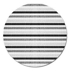 Lines Magnet 5  (round) by Valentinaart
