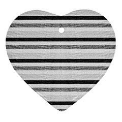 Lines Heart Ornament (two Sides) by Valentinaart