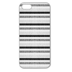 Lines Apple Seamless Iphone 5 Case (clear) by Valentinaart