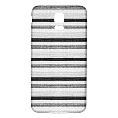 Lines Samsung Galaxy S5 Back Case (white) by Valentinaart