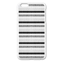 Lines Apple Iphone 6 Plus/6s Plus Enamel White Case by Valentinaart