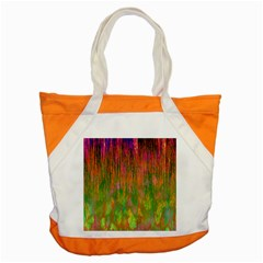 Abstract Trippy Bright Melting Accent Tote Bag by Simbadda
