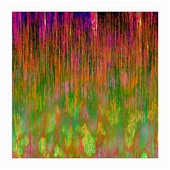 Abstract Trippy Bright Melting Medium Glasses Cloth by Simbadda