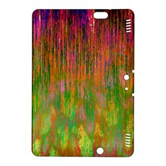 Abstract Trippy Bright Melting Kindle Fire Hdx 8 9  Hardshell Case by Simbadda