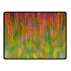Abstract Trippy Bright Melting Double Sided Fleece Blanket (small)