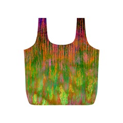 Abstract Trippy Bright Melting Full Print Recycle Bags (s)  by Simbadda