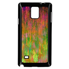 Abstract Trippy Bright Melting Samsung Galaxy Note 4 Case (black) by Simbadda