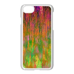 Abstract Trippy Bright Melting Apple iPhone 7 Seamless Case (White) by Simbadda