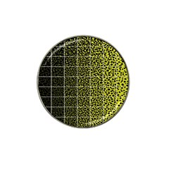 Pixel Gradient Pattern Hat Clip Ball Marker (4 Pack) by Simbadda