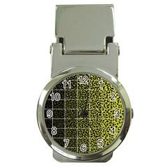Pixel Gradient Pattern Money Clip Watches by Simbadda