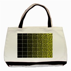 Pixel Gradient Pattern Basic Tote Bag (two Sides) by Simbadda