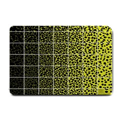 Pixel Gradient Pattern Small Doormat  by Simbadda