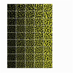 Pixel Gradient Pattern Large Garden Flag (two Sides) by Simbadda
