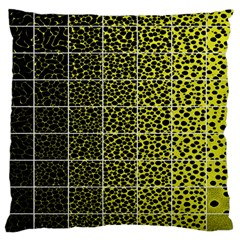 Pixel Gradient Pattern Large Cushion Case (two Sides) by Simbadda