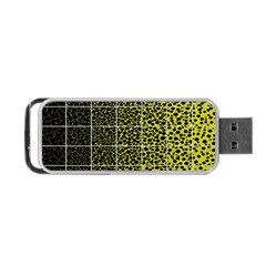 Pixel Gradient Pattern Portable Usb Flash (two Sides) by Simbadda