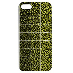 Pixel Gradient Pattern Apple Iphone 5 Hardshell Case With Stand by Simbadda