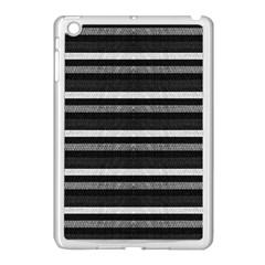 Lines Apple Ipad Mini Case (white) by Valentinaart