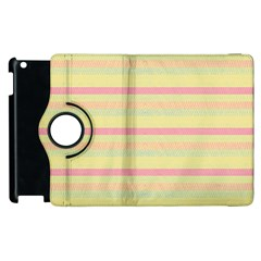 Lines Apple Ipad 2 Flip 360 Case by Valentinaart