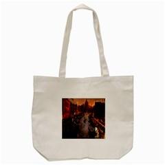 River Venice Gondolas Italy Artwork Painting Tote Bag (cream) by Simbadda