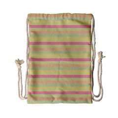 Lines Drawstring Bag (small) by Valentinaart