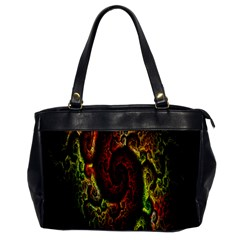 Fractal Digital Art Office Handbags by Simbadda