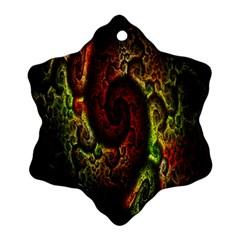 Fractal Digital Art Ornament (snowflake) by Simbadda