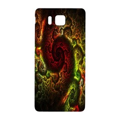 Fractal Digital Art Samsung Galaxy Alpha Hardshell Back Case by Simbadda