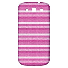 Lines Samsung Galaxy S3 S Iii Classic Hardshell Back Case by Valentinaart