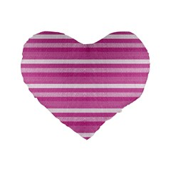 Lines Standard 16  Premium Heart Shape Cushions by Valentinaart