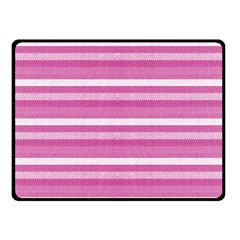 Lines Double Sided Fleece Blanket (small)