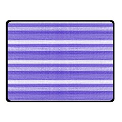 Lines Double Sided Fleece Blanket (small)  by Valentinaart