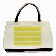 Lines Basic Tote Bag by Valentinaart