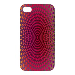 Abstract Circle Colorful Apple Iphone 4/4s Premium Hardshell Case by Simbadda