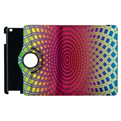 Abstract Circle Colorful Apple Ipad 2 Flip 360 Case by Simbadda