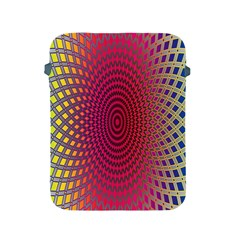 Abstract Circle Colorful Apple Ipad 2/3/4 Protective Soft Cases by Simbadda