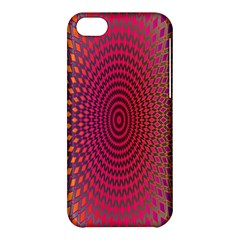 Abstract Circle Colorful Apple Iphone 5c Hardshell Case by Simbadda