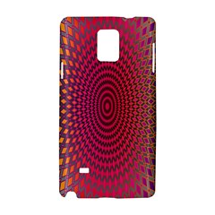 Abstract Circle Colorful Samsung Galaxy Note 4 Hardshell Case by Simbadda