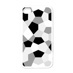 Pentagons Decagram Plain Triangle Apple Iphone 4 Case (white) by Alisyart