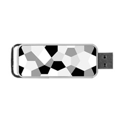 Pentagons Decagram Plain Triangle Portable Usb Flash (two Sides) by Alisyart