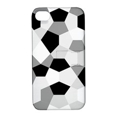 Pentagons Decagram Plain Triangle Apple Iphone 4/4s Hardshell Case With Stand by Alisyart
