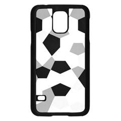 Pentagons Decagram Plain Triangle Samsung Galaxy S5 Case (black) by Alisyart