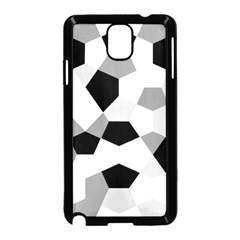 Pentagons Decagram Plain Triangle Samsung Galaxy Note 3 Neo Hardshell Case (black) by Alisyart