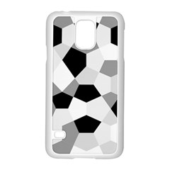 Pentagons Decagram Plain Triangle Samsung Galaxy S5 Case (white) by Alisyart