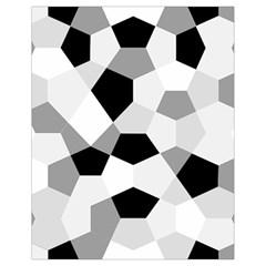 Pentagons Decagram Plain Triangle Drawstring Bag (small) by Alisyart