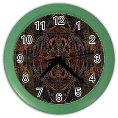Digital Art Color Wall Clocks by Simbadda