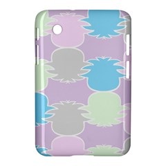 Pineapple Puffle Blue Pink Green Purple Samsung Galaxy Tab 2 (7 ) P3100 Hardshell Case  by Alisyart
