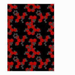 Red Digital Camo Wallpaper Red Camouflage Small Garden Flag (two Sides) by Alisyart